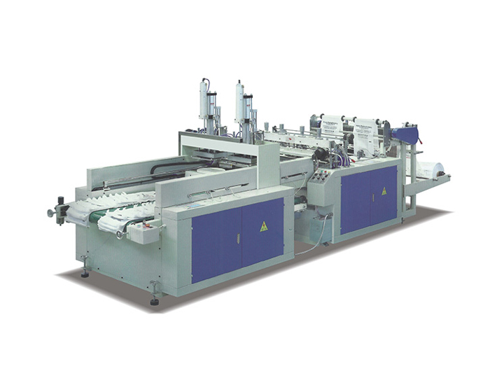 Automatic high speed bag making machine